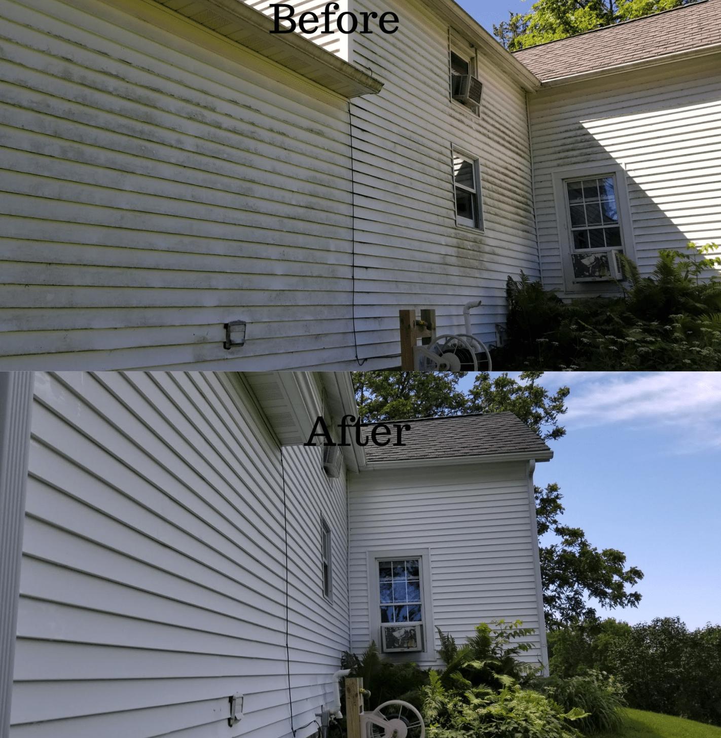 La Crosse Home Soft Washing House Siding Power