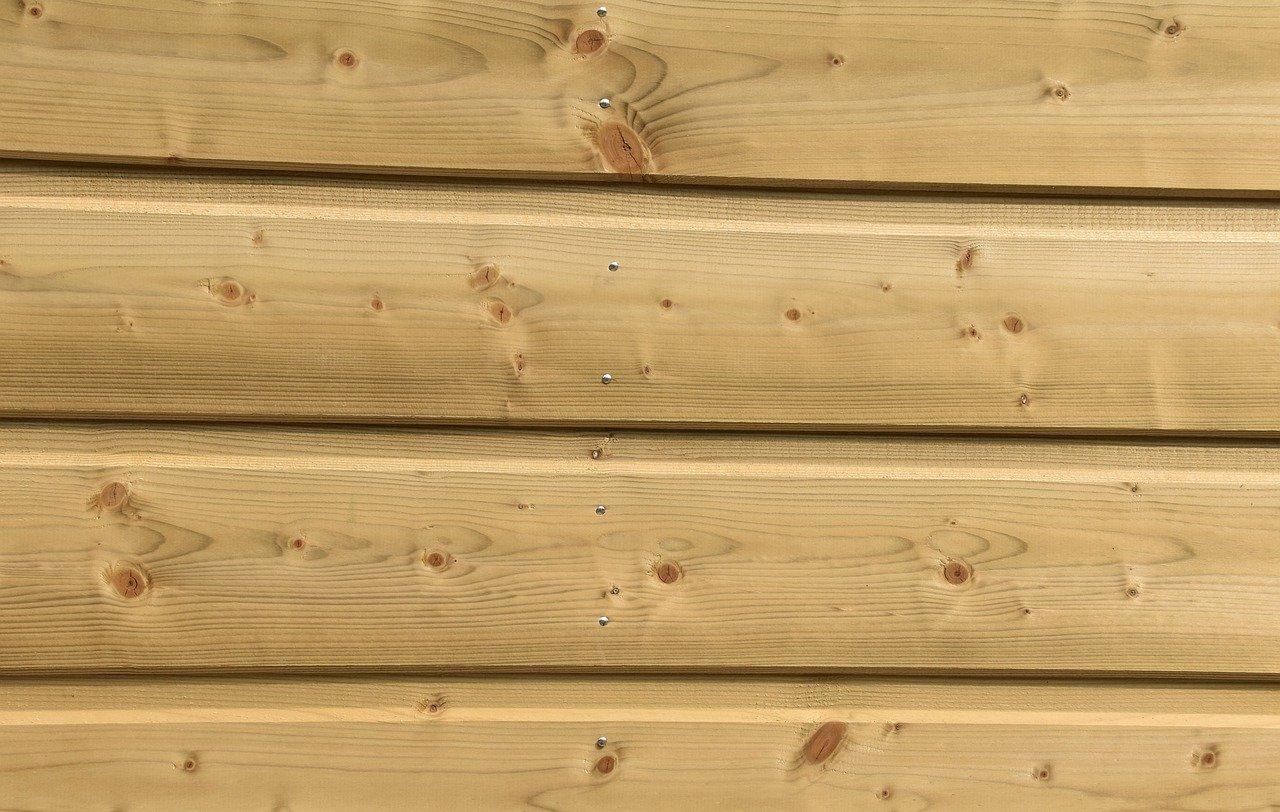 natural wood siding
