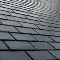 roofing materials rubber slate