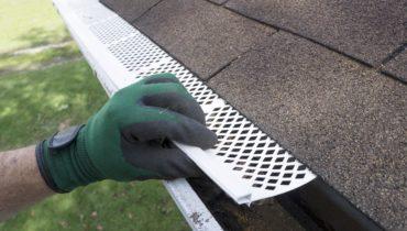 best gutter guards: screen mesh