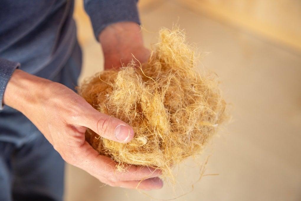 fiber insulation material