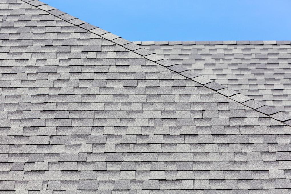 asphalt roof close-up